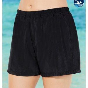 Swimsuits for All Nylon Swim Shorts Sz 20